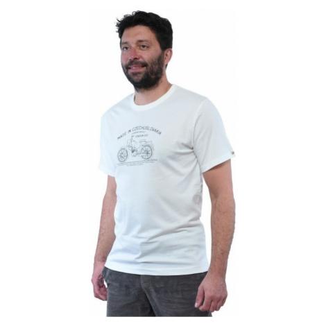 Pánské tričko BUSHMAN BOBSTOCK II bílá