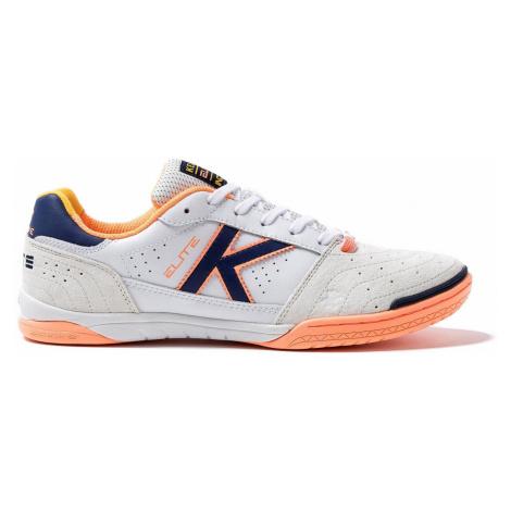 Sálová obuv Kelme Elite Bílá / Oranžová
