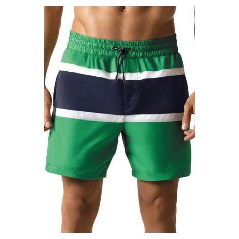 Pánské šortkové plavky Tom zelené Self