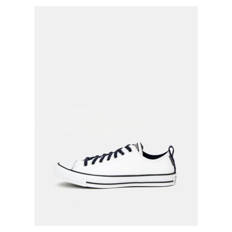 Bílé pánské kožené tenisky Converse