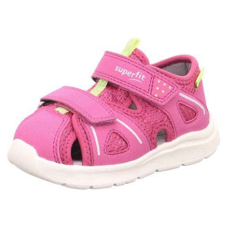 dětské sandály WAVE, Superfit, 1-000479-5500, růžová