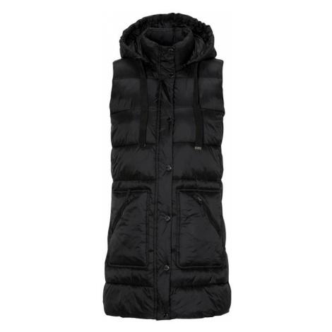 Prošívaná vesta s odepínatelnou kapucí Cellbes