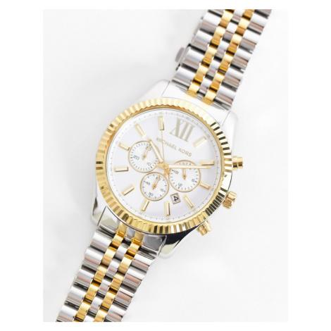 Michael Kors MK8344 Lexington watch-Silver