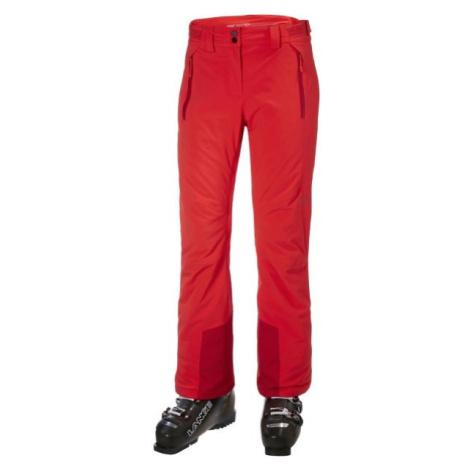 Helly Hansen ALPHELIA PANT W červená - Dámské lyžařské kalhoty
