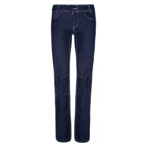 KILPI Dámské volnočasové kalhoty DANNY-W LL0091KIDBL Tmavě modrá