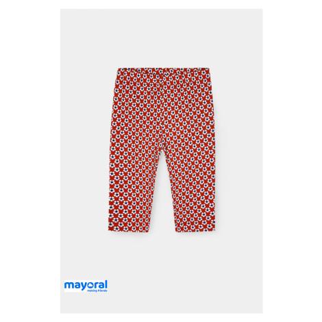 Dívčí legíny Mayoral Květiny červené