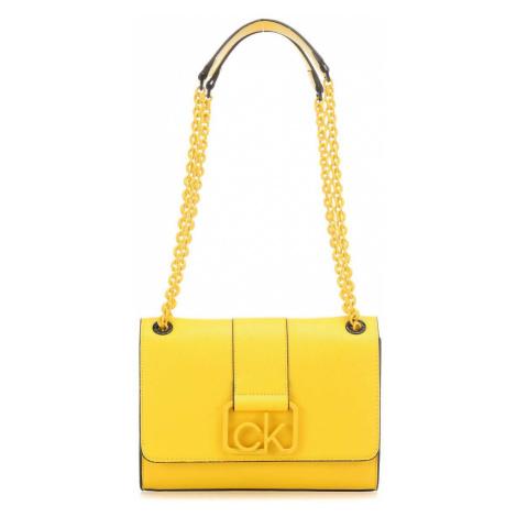 Calvin Klein Calvin Klein žlutá kabelka Signature Conv Crossbody