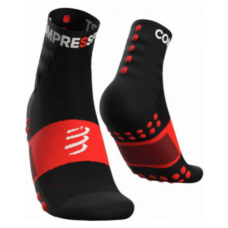 Compressport TRAINING SOCKS 2-PACK černá - Sportovní ponožky