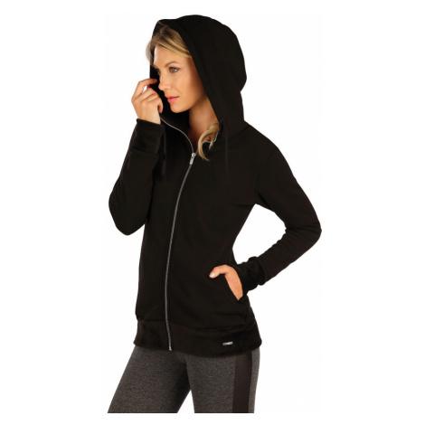LITEX Mikina dámská s kapucí 7A089901 černá