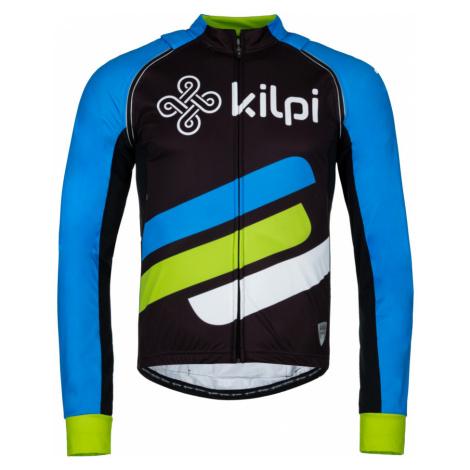 KILPI Pánská cyklistická bunda PALM-M KM0074KIBLU Modrá