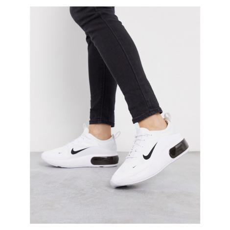 Nike Air Max Dia White And Black Trainers
