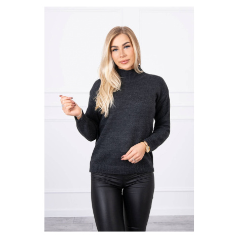 Sweater high neck graphite Kesi