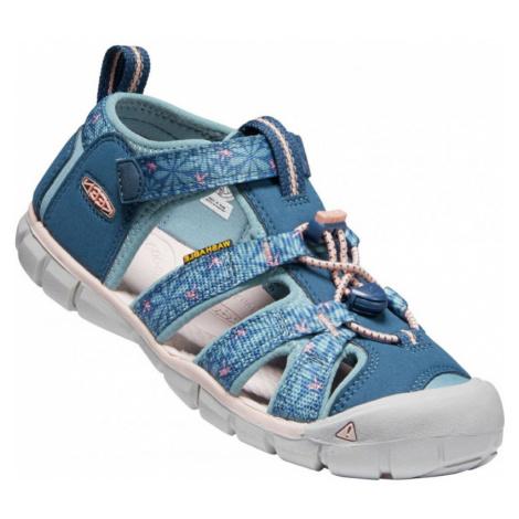 Dětské sandály KEEN Seacamp II CNX Children real teal/stone
