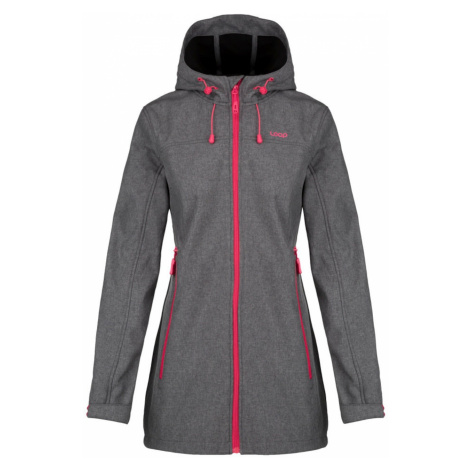 LIVIA women's softshell jacket gray LOAP