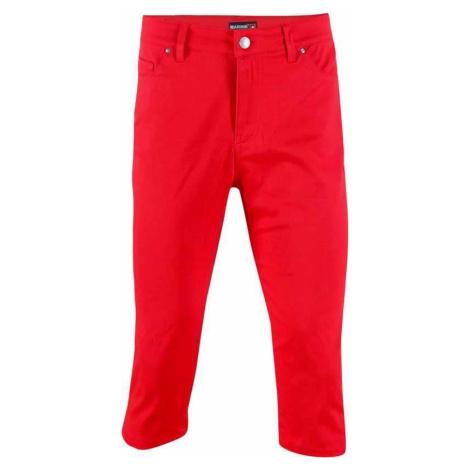 MARINE - dámské 3/4 kalhoty (jersey - spandex) - červené 2117 of Sweden