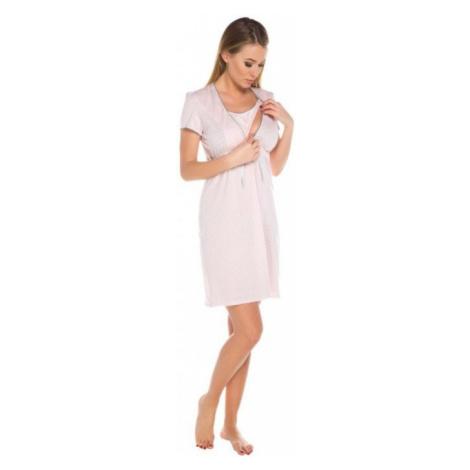 Dámská kojící košile Italian Fashion Felicita apricot | meruňková