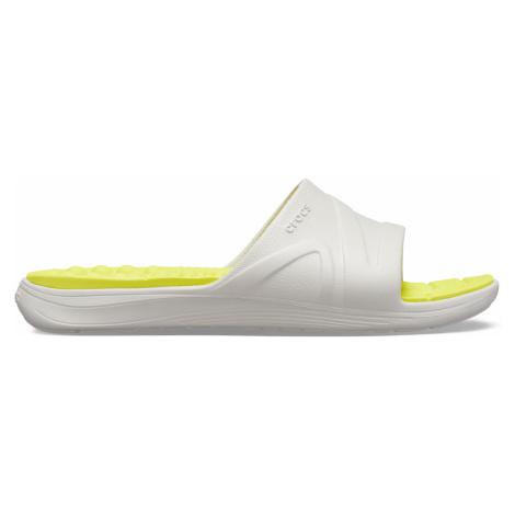 Crocs Reviva Slide Pearl White/Citrus