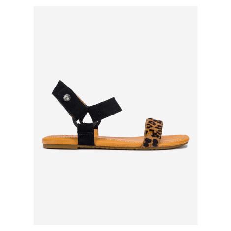 Rynell Leopard Sandále UGG Černá