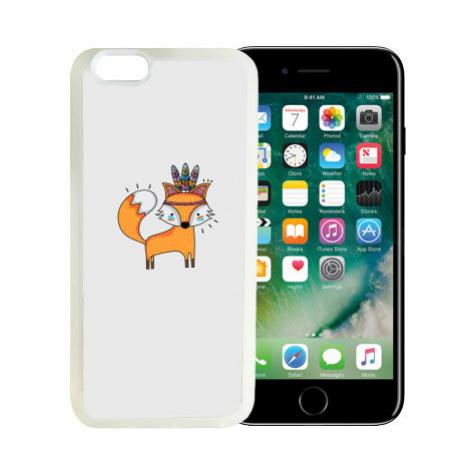 iPhone 7/8 kryt gumový soft Liška šaman