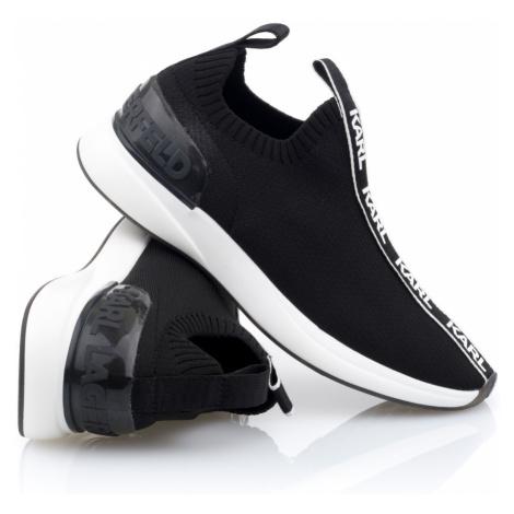 Tenisky Karl Lagerfeld Finesse Legere Lo Knit - Černá