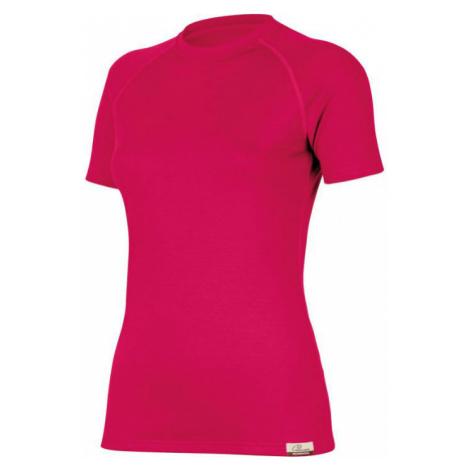 Dámské vlněné Merino triko ALEA 160g - růžové Lasting