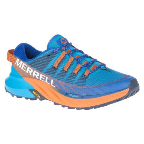 Obuv Merrell AGILITY PEAK 4 M - modrá/oranžová