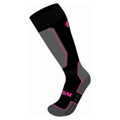 Lyžařské ponožky Relax CARVE - šedá