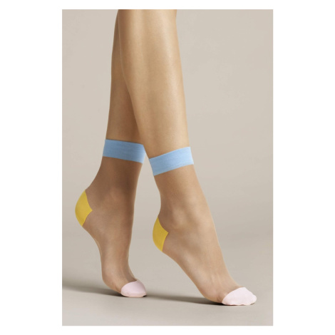 Vícebarevné ponožky Tricolore 20DEN Fiore