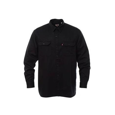Košile Levi´s® Jackson Worker Caviar pánská černá
