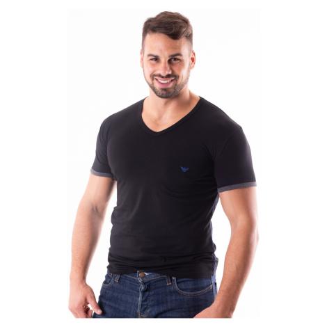Pánské tričko Emporio Armani 110810 8A523 Černá
