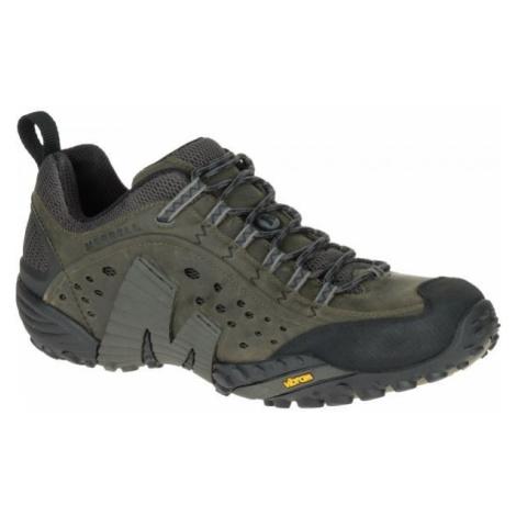 Merrell INTERCEPT tmavě šedá - Pánské outdoorové boty