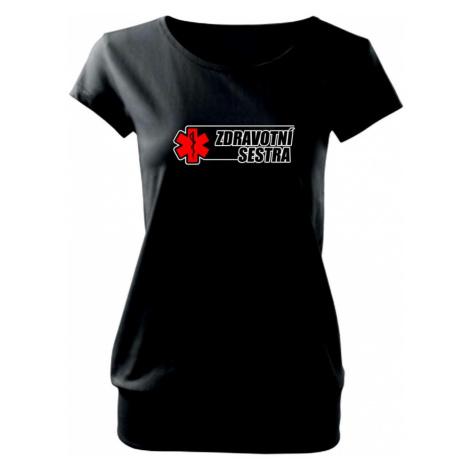 Zdravotní sestra - kříž - Volné triko city
