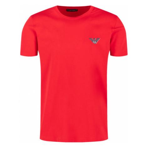Pánské triko Emporio Armani 110853 0P525 červená   červená