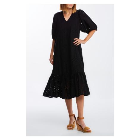 Šaty s krátkým rukávem