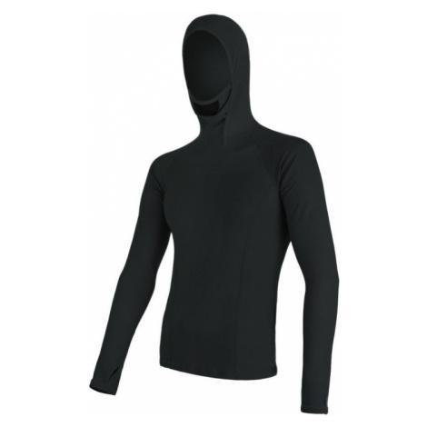 Pánské tričko SENSOR Merino DF dl. rukáv černá