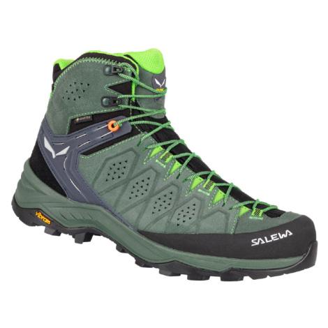 Pánská turistická obuv Salewa MS Alp Trainer 2 Mid GTX Green