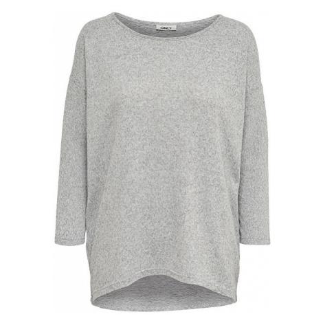 ONLY Dámské triko ONLELCOS Light Grey Melange