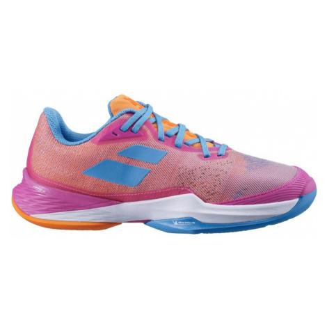 Dámská tenisová obuv Babolat Jet Mach 3 Clay Pink, EUR 37.0 / UK 4.5 (BABOLAT)
