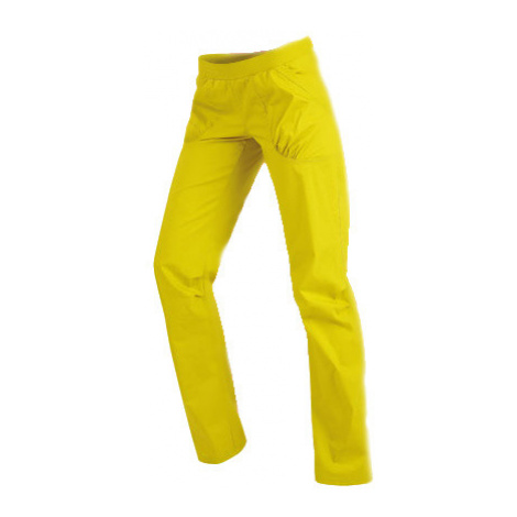 Dámské kalhoty dlouhé bokové Litex 99581 | žlutozelená