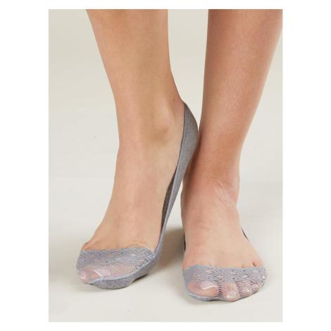 Gray ballerinas socks Fashionhunters