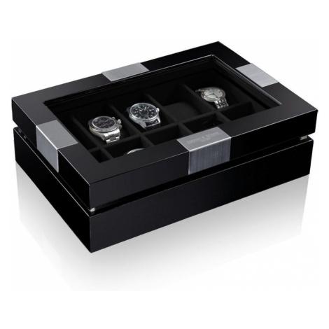 Heisse & Söhne Kazeta na hodinky Heisse & Söhne Executive Black 10 70019-84