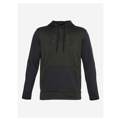 Armour Fleece® Textured Big Logo HD Mikina Under Armour Zelená