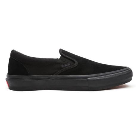 BOTY VANS Skate Slip-On - černá