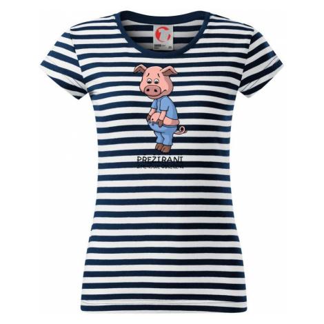 Přejídání zmenšuje oblečení (Hana-creative) - Sailor dámské triko