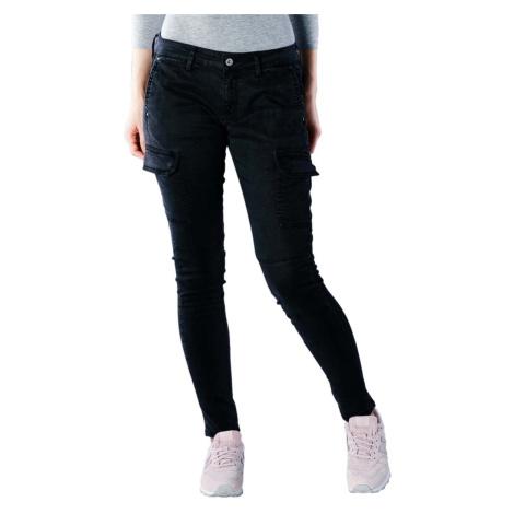 Pepe Jeans dámské černé kapsáčové kalhoty Survivor