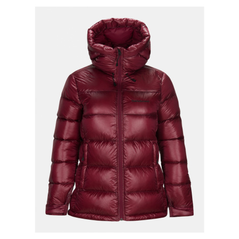 Bunda Peak Performance Wfrosgdhj Outerwear - Fialová