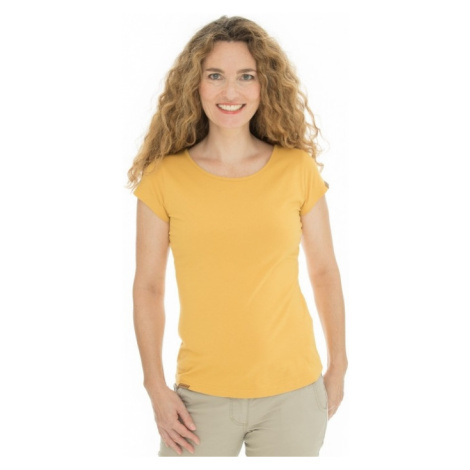 Dámské tričko BUSHMAN NATALIE II žlutá