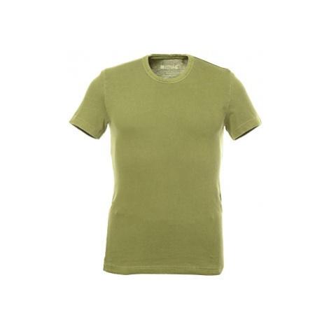 Pánské triko Mustang Dyed Tee oliv
