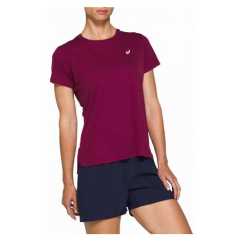 Asics SILVER SS TOP fialová - Dámské běžecké triko
