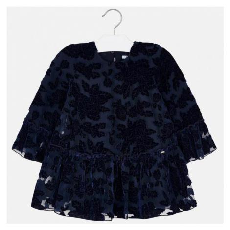 Dívčí šaty Mayoral 4918 | modrá